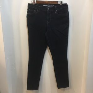 Old Navy Curvy Mid Rise Skinny Jeans